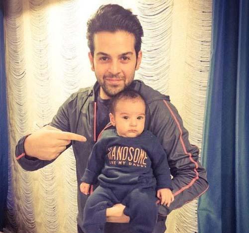 0007139 عکس جدید عماد طالب زاده و پسرش