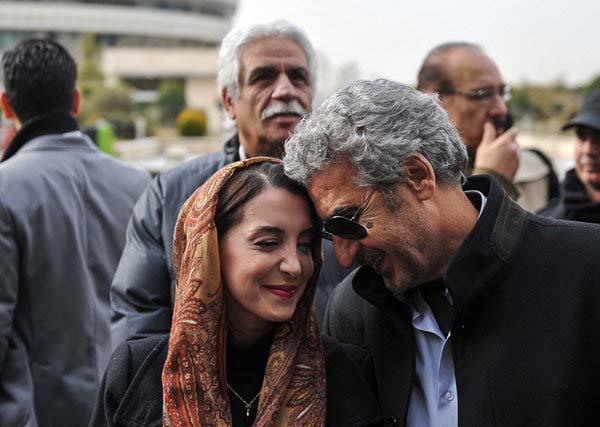 0007149 جعفری جوزانی و دخترش در جشنواره فیلم فجر / عکس