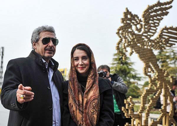 0007150 جعفری جوزانی و دخترش در جشنواره فیلم فجر / عکس