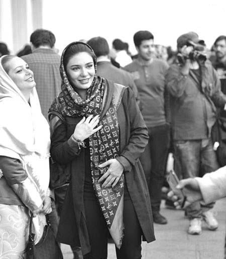 0007152 تیپ لیندا کیانی در جشنواره فیلم فجر / عکس