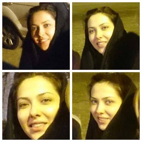 000729 چالش عکس بدون آرایش لیلا اوتادی همچنان ادامه دارد!