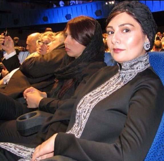 تیپ بدون روسری هنگامه قاضیانی در جشنواره مسکو! + عکس