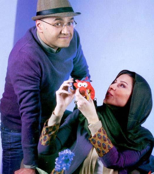 000799 رامبد جوان و همسرش سحر دولتشاهی / عکس