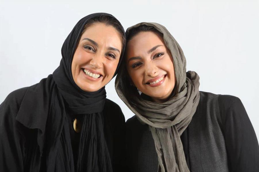 هانیه توسلی در کنار هدیه تهرانی / عکس