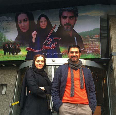 000829 عکسی از زوج دوست داشتنی سینمای ایران