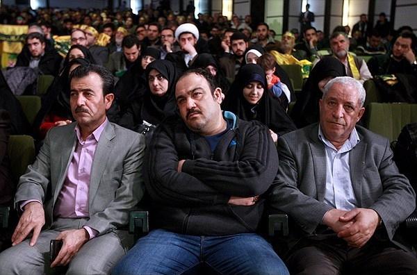 مهران غفوریان: من حزباللهی هستم+تصاویر