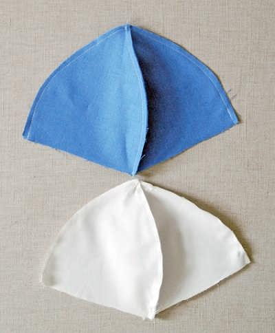 آموزش دوخت کلاه پارچه ای پسرانه اموزش دوخت کلاه پارچه ای بچه گانه نوزاد