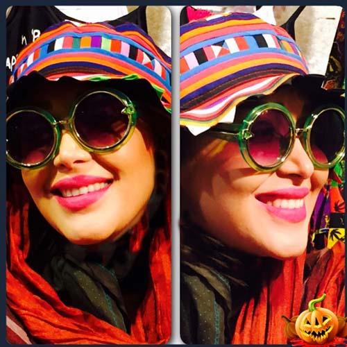 6302596 2 تیپ عجیب سارا منجزی پور و هلیا امامی در کیش! + تصاویر