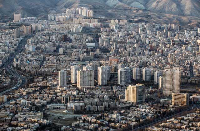 7315962 10 تصاویری از منازل تهرانی ها از نمای بالا