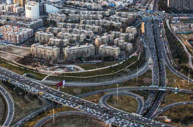 7315962 2 تصاویری از منازل تهرانی ها از نمای بالا