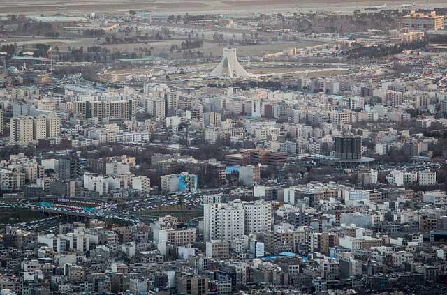 7315962 3 تصاویری از منازل تهرانی ها از نمای بالا