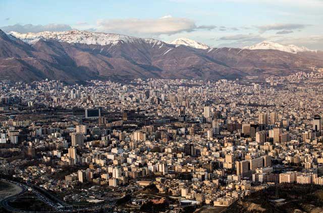 7315962 5 تصاویری از منازل تهرانی ها از نمای بالا