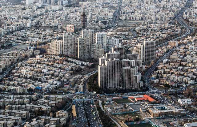 7315962 7 تصاویری از منازل تهرانی ها از نمای بالا