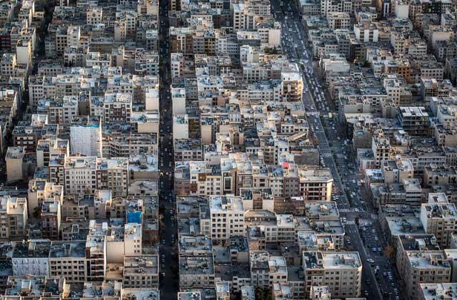 7315962 8 تصاویری از منازل تهرانی ها از نمای بالا