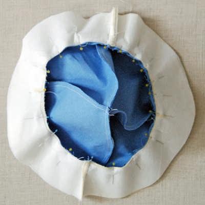 کلاه پارچه ای پسرانه اموزش دوخت کلاه پارچه ای بچه گانه نوزاد