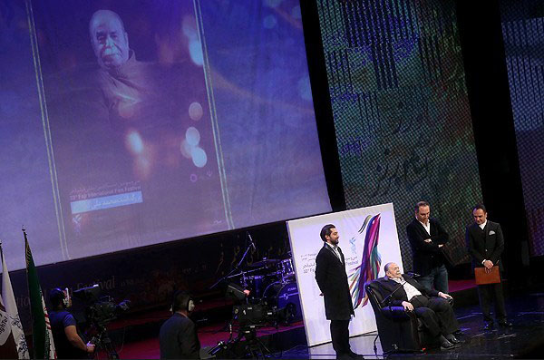 تصاویر بازیگران معروف در افتتاحیه جشنواره فیلم فجر
