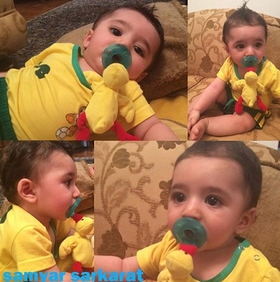IMG13544390 تصاویر جالب و دیدنی از سامیار پسر شیلا خداداد