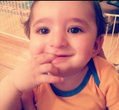 IMG13544674 تصاویر جالب و دیدنی از سامیار پسر شیلا خداداد