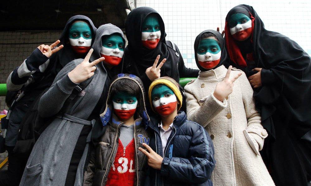 تصاویر راهپیمایی ۲۲ بهمن در تهران