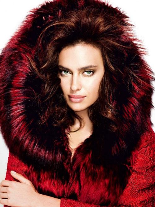 جذاب ترین مدل لباس زمستانی ایرینا شایک