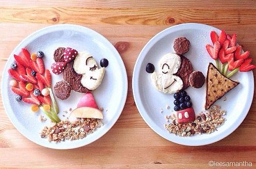 عکس تزیین صبحانه و غذا برای کودکان