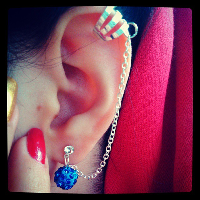 متفاوت ترین مدل گوشواره لاله گوش