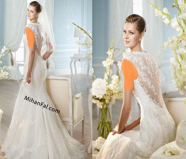 مدل لباس عروس جدید ۲۰۱۵