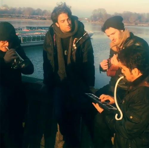 لغو کنسرت بنیامین بهادری به دلیل بمب گذاری +تصاویر