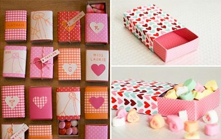 کاردستی های عاشقانه برای روز ولنتاین