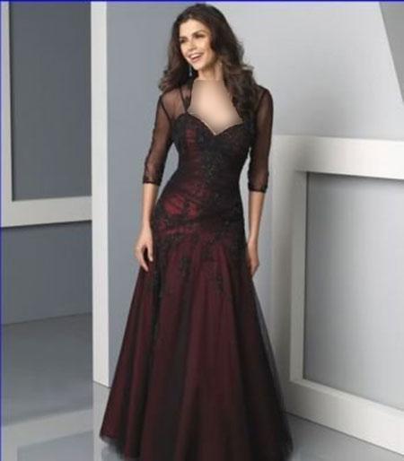 women dress gh0165 مدل لباس مجلسی گیپور زنانه
