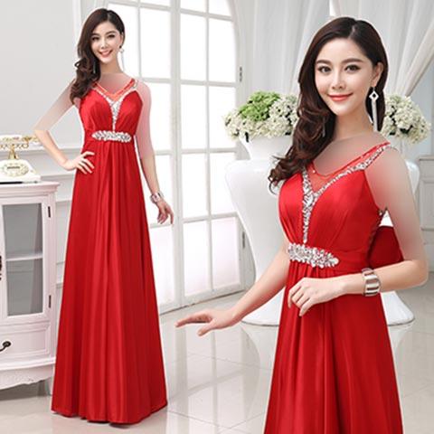 women dress gh0179 مدل لباس مجلسی گیپور زنانه