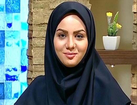 دفاع خانم مجری از فرزاد حسنی + عکس