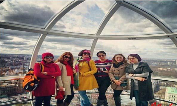 کشف حجاب گروه ماه بانو در ایام فاطمیه! + عکس