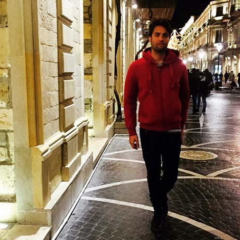 بنیامین بهادری در آذربایجان / عکس