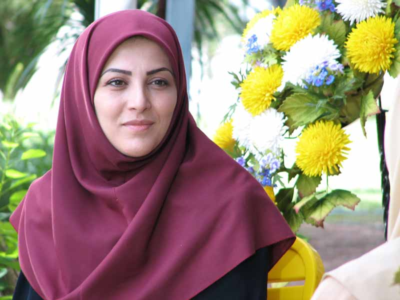 ژیلا صادقی مجری سال تحویل شبکه پنج سیما