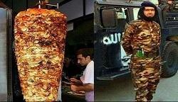 شباهت تروریست داعش به کباب ترکی! + عکس