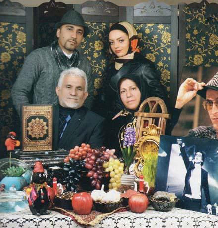 خانواده پاشایی در کنار سفره هفت سین + عکس