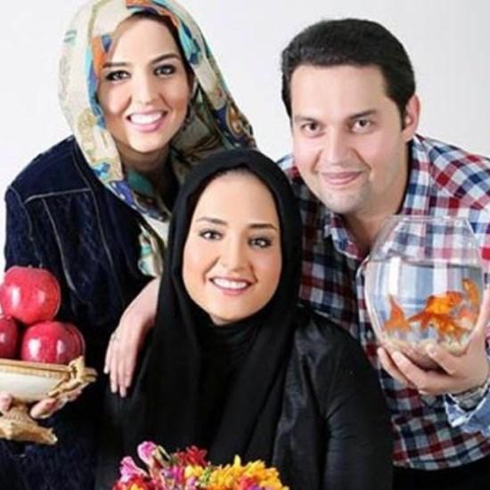 استقبال نرگس محمدی و خانواده اش از عید نوروز + عکس