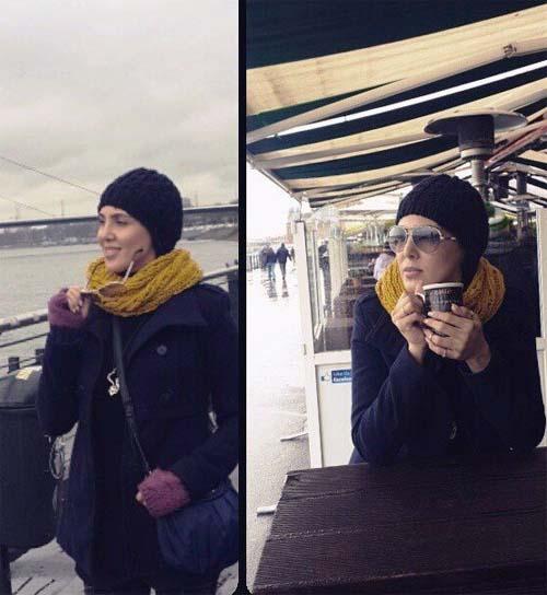 تیپ نوروزی لیلا بلوکات در آلمان + عکس
