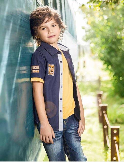 مدل زیبا از لباس بچگانه برند tigor t.tigre