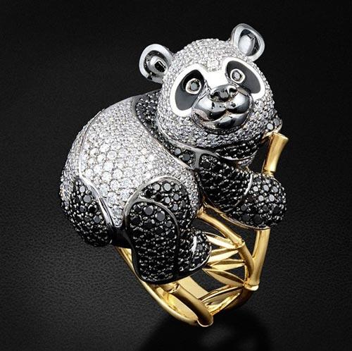 متفاوت ترین مدل انگشتر به سبک حیوانات