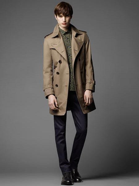 مدل کت رنگارنگ مردانه از برند Burberry