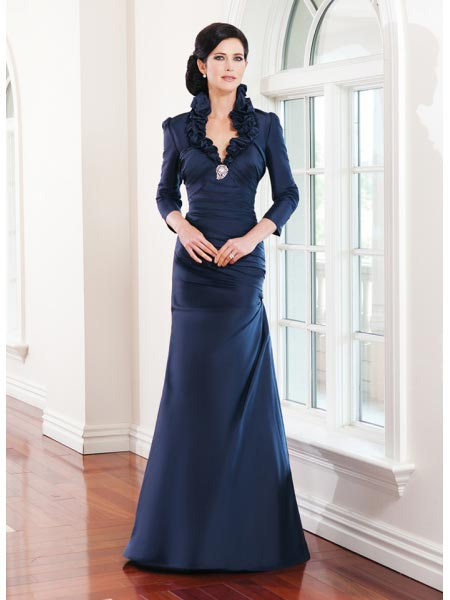 مدل جذاب از لباس مجلسی بلند زنانه
