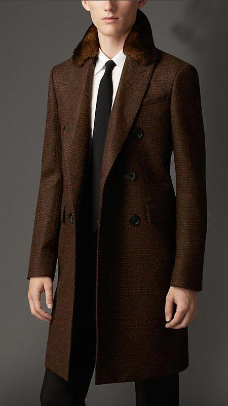 شیک ترین مدل کت مردانه برند Burberry
