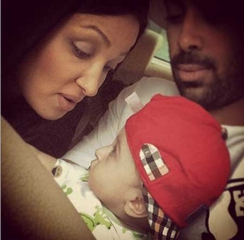 عکس های خانوادگی روناک یونسی