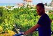 بابک جهانبخش در سرسبز ترین منطقه جهان + عکس