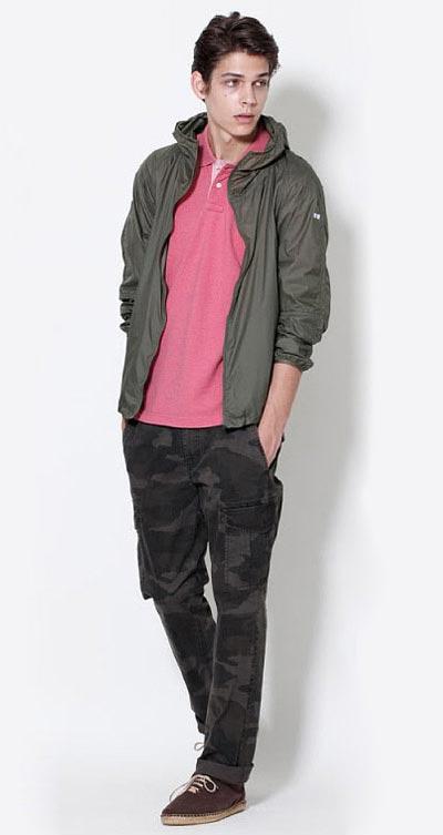 لباس مردانه اسپرت شیک برند UNIQLO