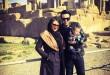 عماد طالب زاده همراه با خانواده اش در تخت جمشید + عکس