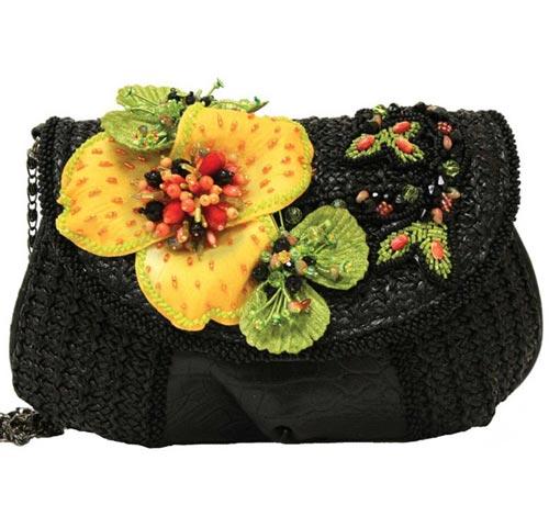 مدل کیف مهره کاری برند Mary Frances