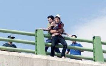 تصویری از خودکشی دختر ۱۸ ساله در کرمانشاه
